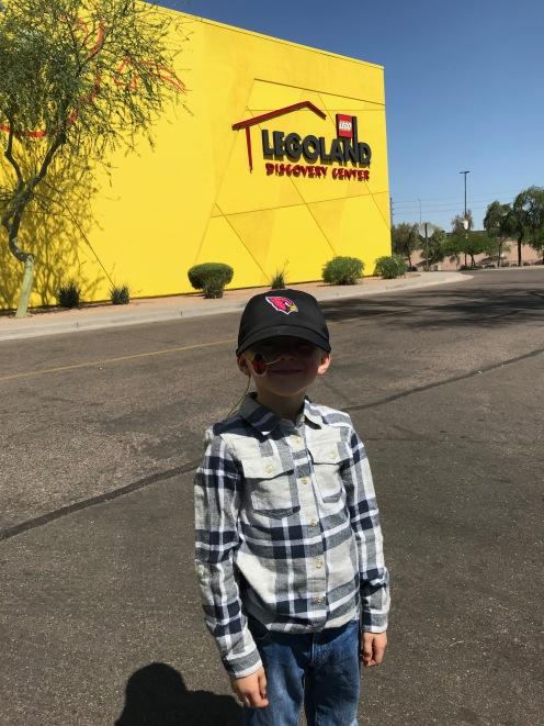 Surprise Legoland Discover Center visit to celebrate!